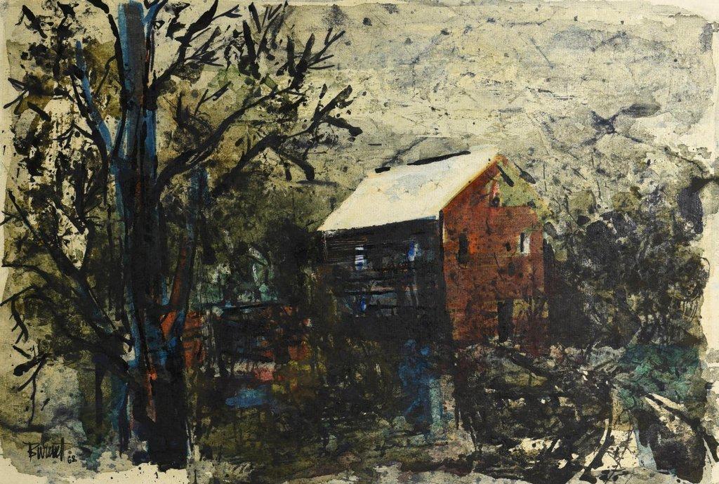 2 TN Ted Burnett Watercolors - 2