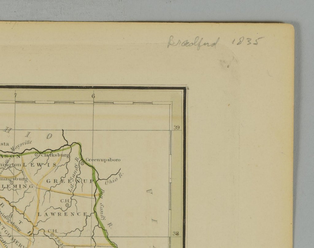 3 19th cent. Maps, 1 of TN and KY, 2 of TN - 10