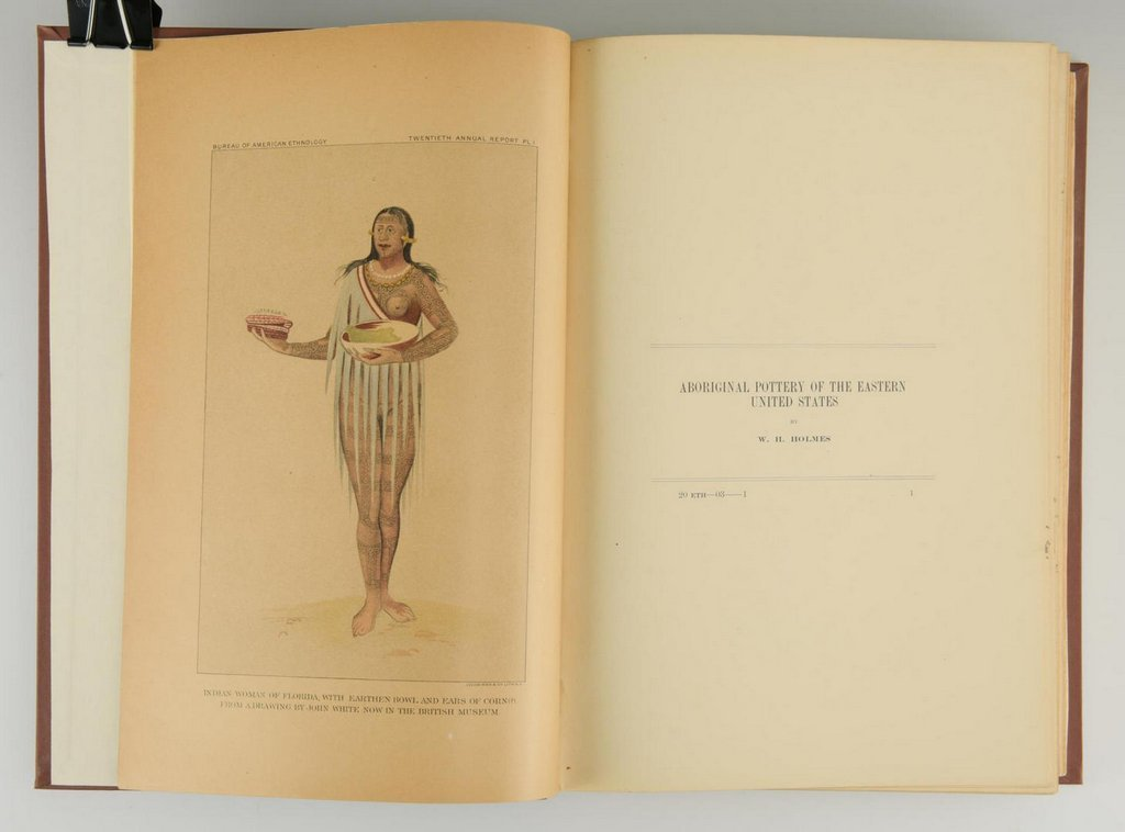 Mason. Indian Basketry (2 volumes),  First Edition; - 10