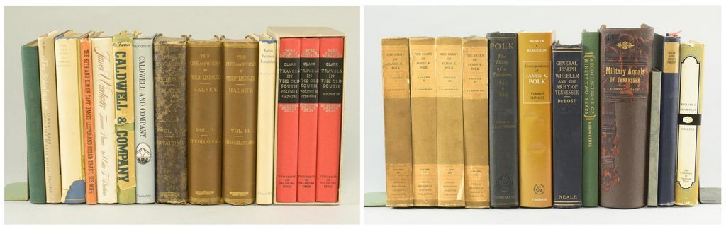 Lot of 26 Tennessee Biography Books