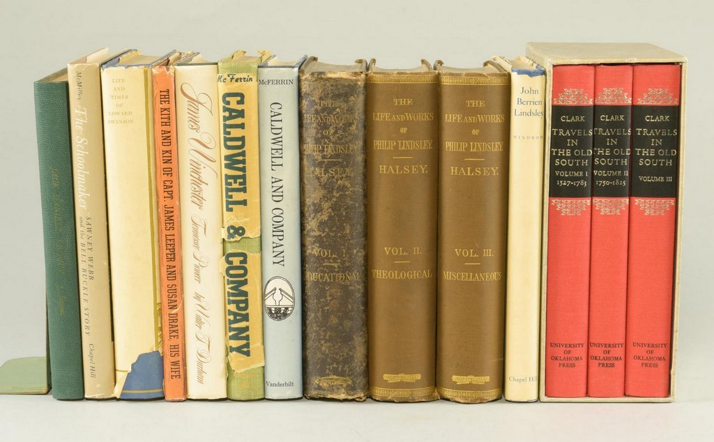 Lot of 26 Tennessee Biography Books - 2