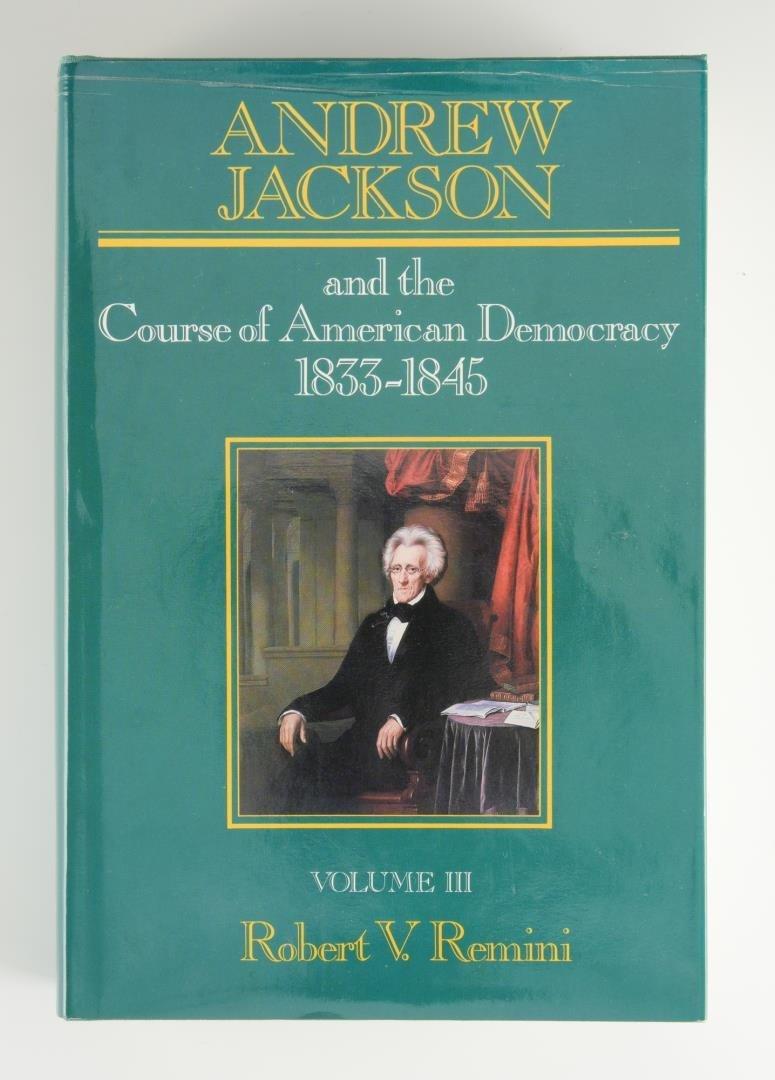 Remini, Andrew Jackson Bio 3 vols, Signed - 8