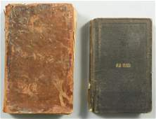 Pair Books: Old Times in West Tennessee (1873) & 1829