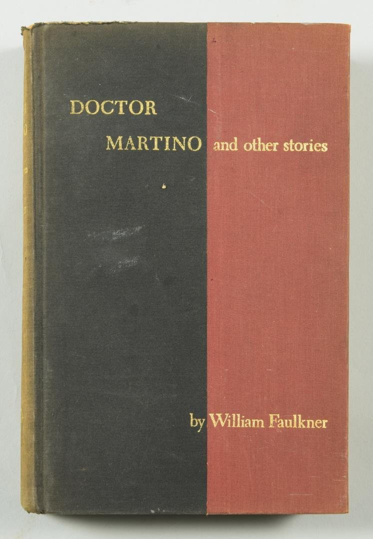 """Signed William Faulkner Book , """"Doctor Martino & Other"""