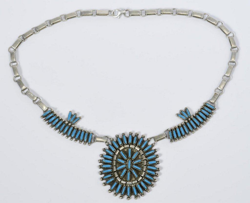 Benson Yazzie Navajo Necklace - 2