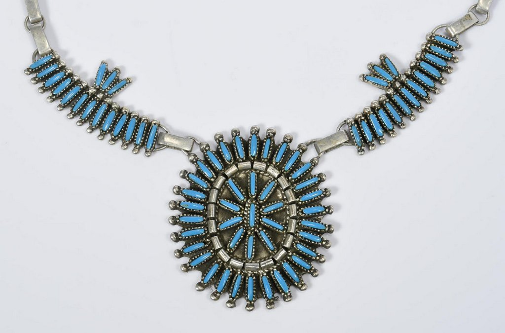 Benson Yazzie Navajo Necklace - 3