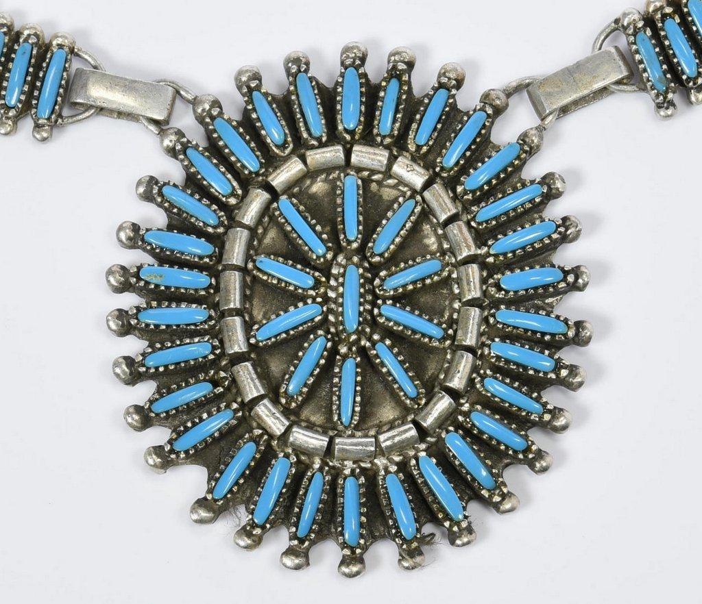 Benson Yazzie Navajo Necklace - 4