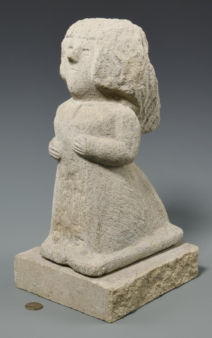 William Edmondson Sculpture, Nursing Supervisor