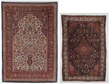 2 Antique Persian Area Rugs