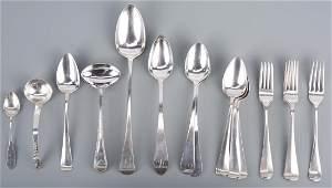 Assd Silver inc Federal Serving Spoons 19 pcs