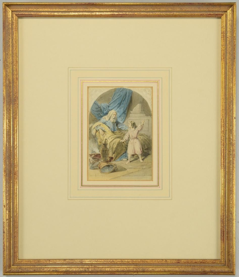 Henry James Richter Watercolor