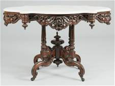 Marble Top Center Table att Meeks