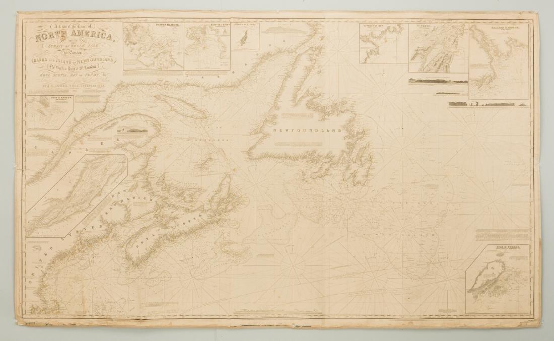 Nautical Chart: N. America inc. Boston, Nova Scotia