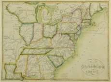 John Melish 1815 United States of America Map