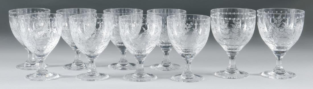 "William Yeoward ""Fern""  Goblets/Wine Glasses"