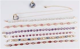14K and 10K Gemstone Jewelry
