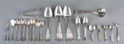 Assd Silver Flatware inc KY Tiffany