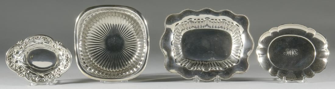 4 Small Sterling Bowls