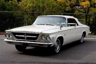 1963 Chrysler 300 Convertible NO RESERVE