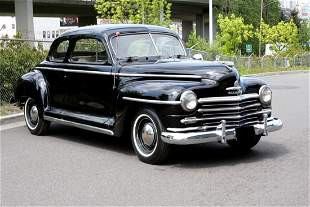 1948 Plymouth Special Deluxe Six Coupe