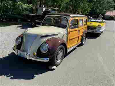 1971 Volkswagen Woodie Wagon NO Reserve
