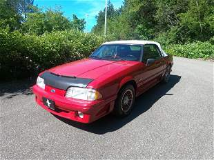 """1988 Ford Mustang GT Convertible """"Fox Body"""""""
