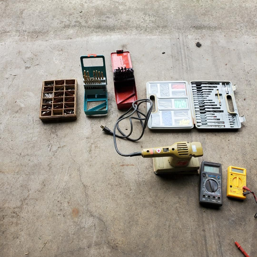 Screw Box-2 Electrical Diagnostic Testers-2 Soldering
