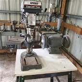 Target Machinery 5 Speed 13mm Drill Press NO RESERVE