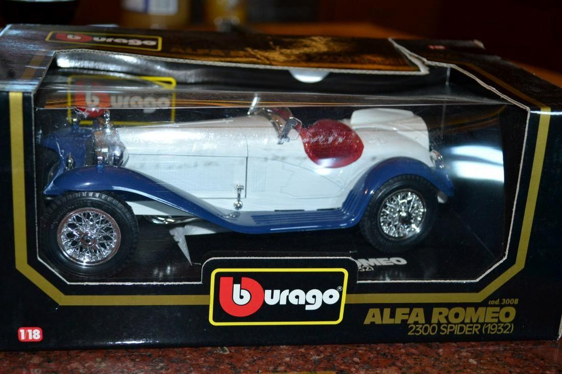 Diecast Models 1932 Alfa Romeo 8C 2300 Spider NO