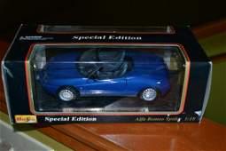 Diecast Models 1995 Alfa Romeo Spider NO RESERVE