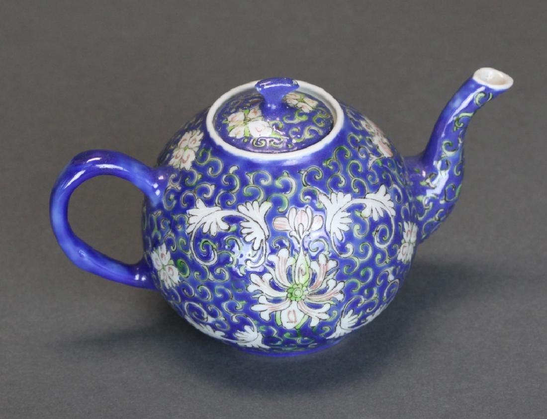 Chinese porcelain teapot, Republican period