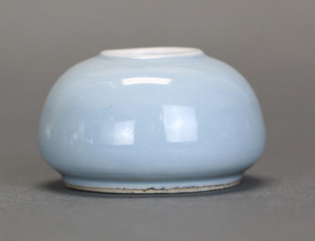 Chinese porcelain water pot, Republican/Qing dynasty - 2