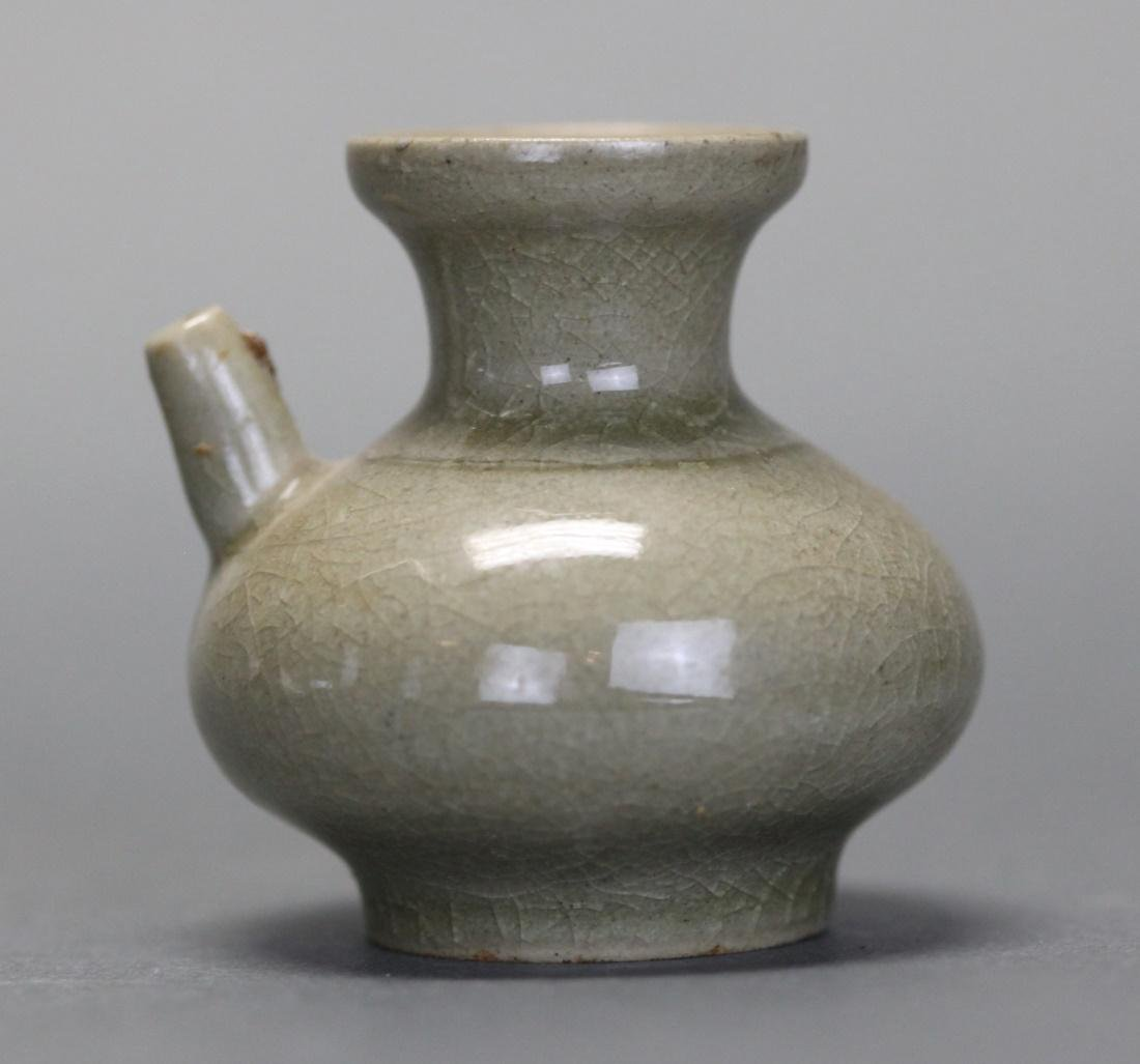 Chinese porcelain wine vessel, Qing dynasty - 2