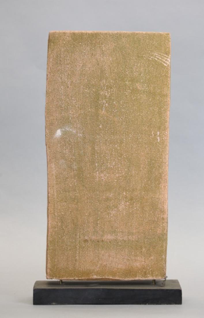Asian stone stele of a deity - 5