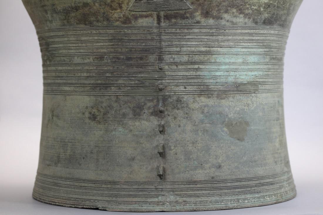 Southeast Asian bronze rain drum, 19th c. - 3