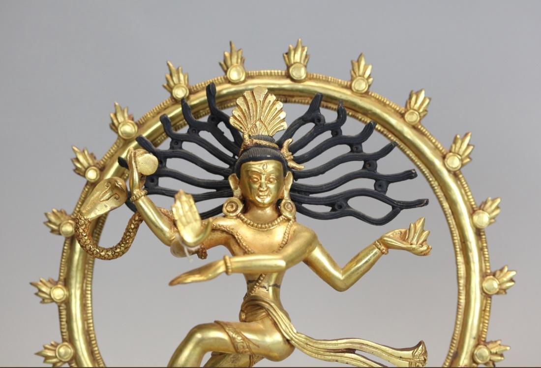 2 Thai bronze Buddhas - 5