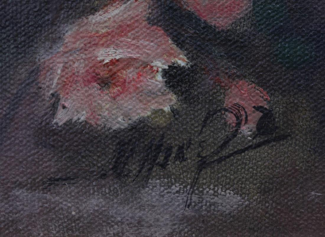 portrait of a child, signed Martin Manero - 5