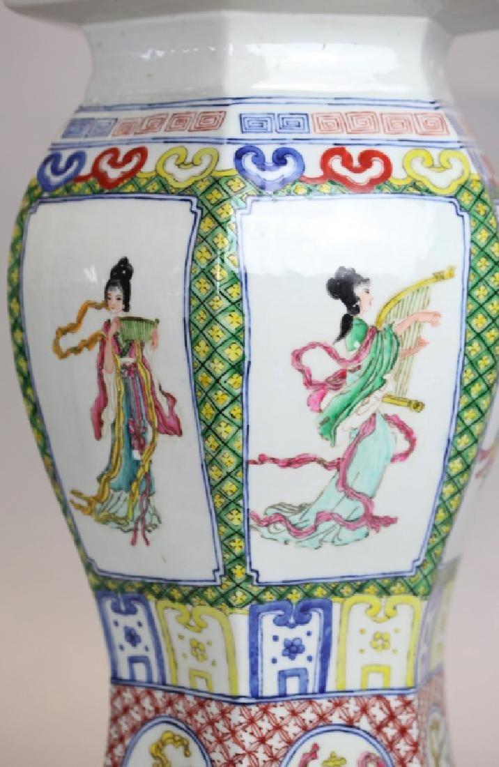 Chinese porcelain garden seat - 3