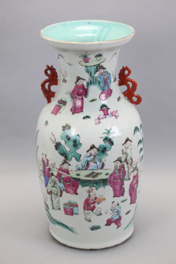large Chinese porcelain vase, 19th c.