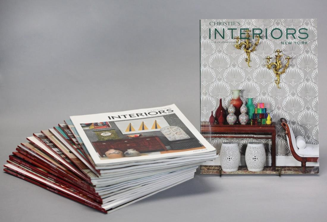 group of 52 Christie's auction catalogs