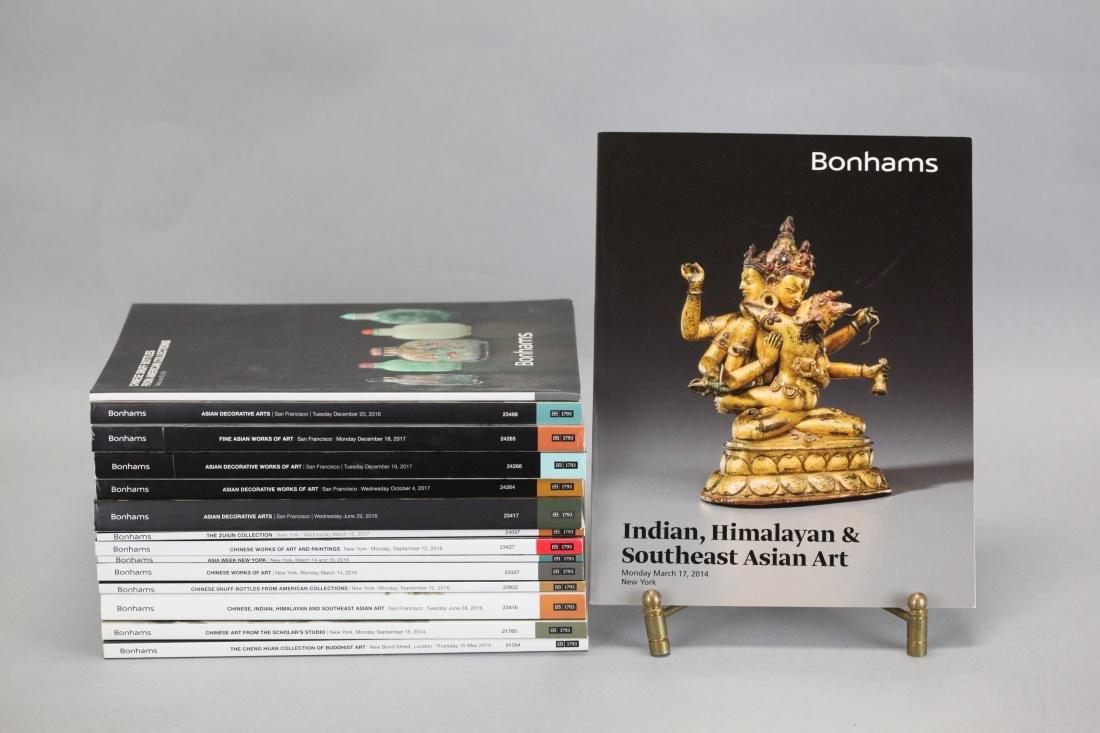 15 Bonhams Asian art catalogs