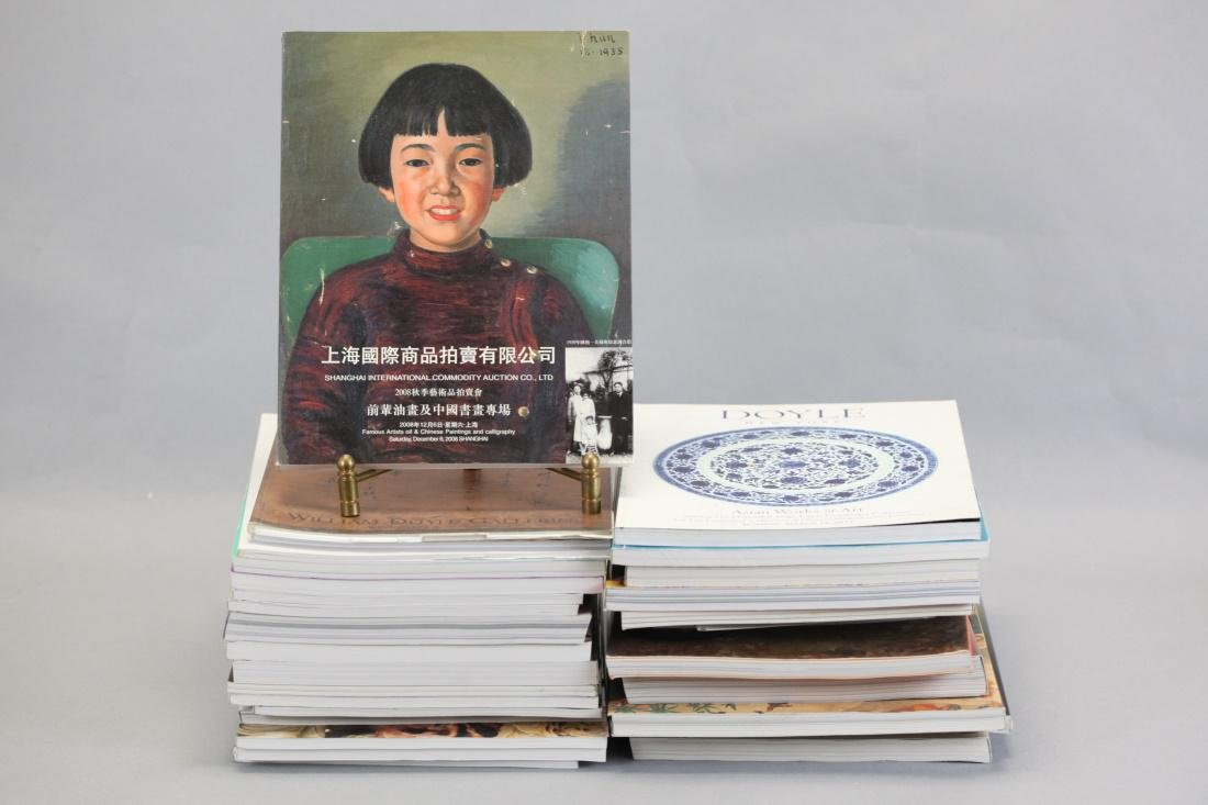 30 Asian & non Asian art auction catalogs