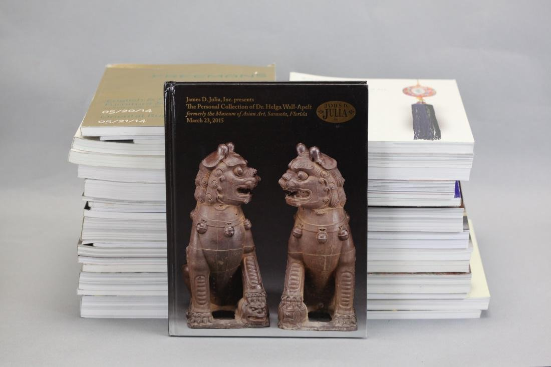38 Asian & non Asian art auction catalogs