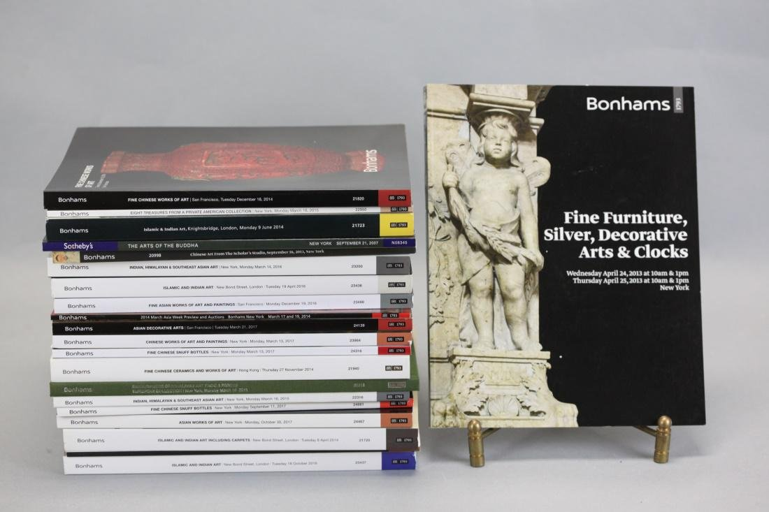 20 Asian & non Asian art auction catalogs