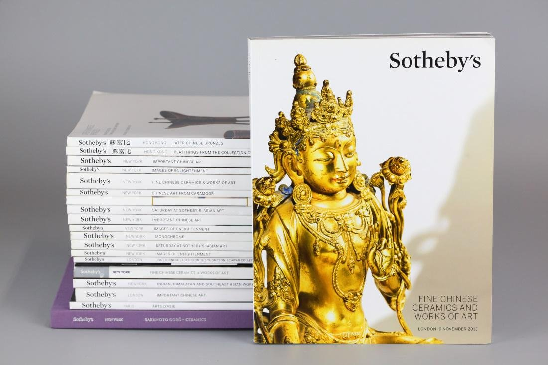 20 Sotheby's Asian art auction catalogs