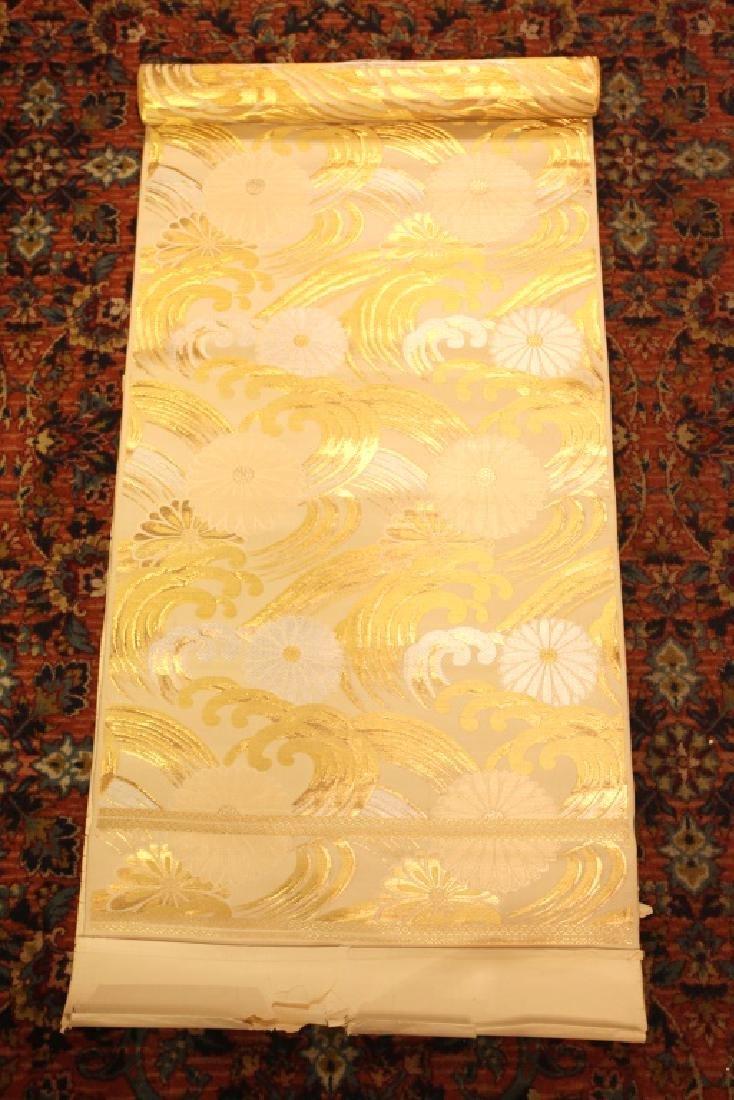 Chinese brocade fabric, 19th c.