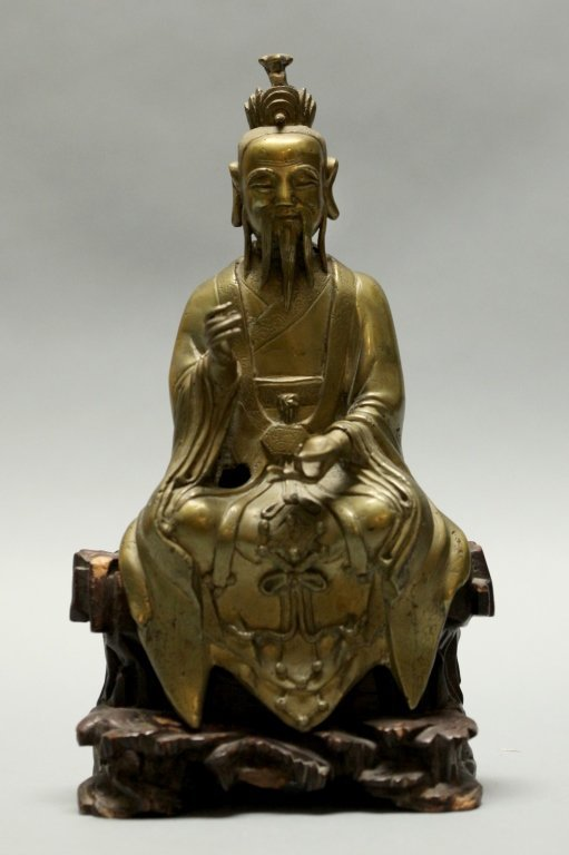 Chinese bronze immortal, Qing dynasty