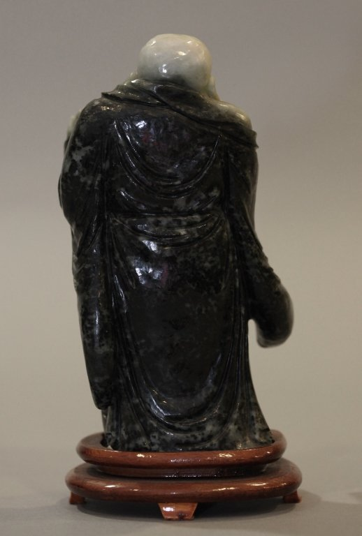 Chinese stone carving of the laughing buddha - 2