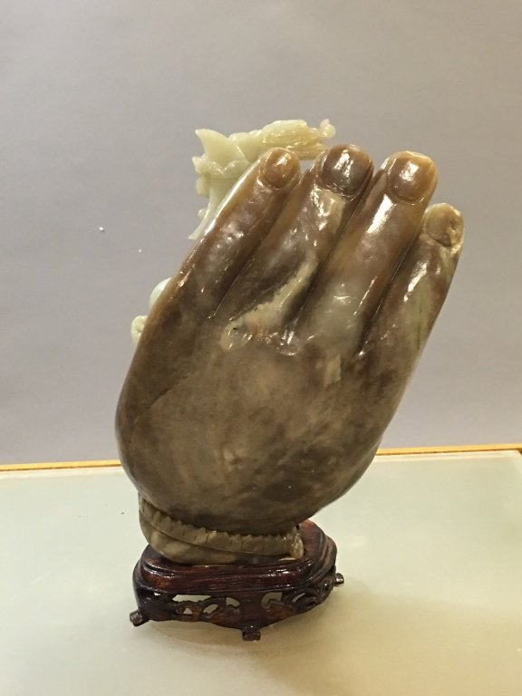 Chinese nephrite celadon jade carving - 3