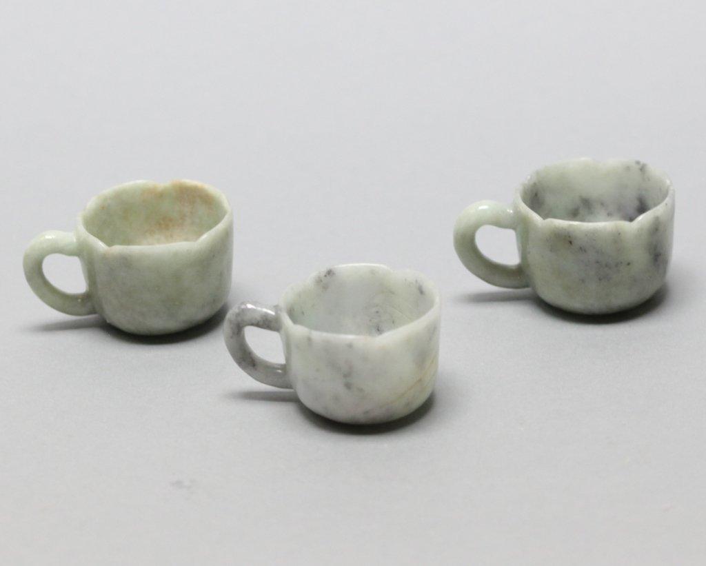 Chinese jadeite teapot set - 6